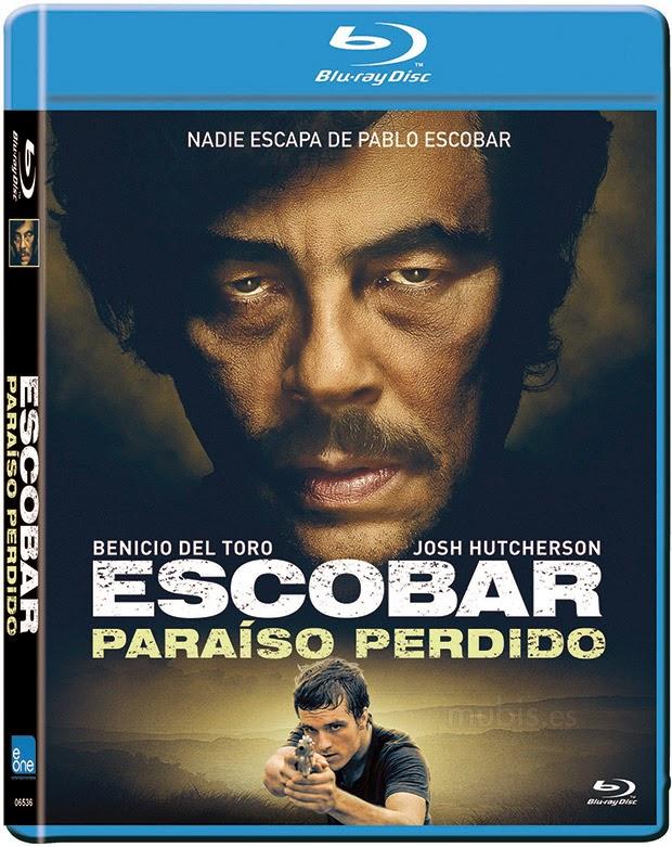 Escobar Paraiso Perdido Blu ray Cover Caratula
