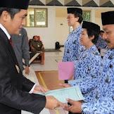 489 Tenaga Honorer Diangkat Jadi PNS TMT 1 Juni 2016