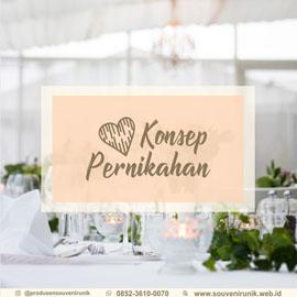 konsep pernikahan, souvenir unik, 0852-3610-0070