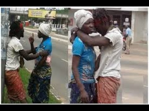 2 Mentally Challenged Lovers Spotted Making Love Publicly On Val's Day (Watch Video)