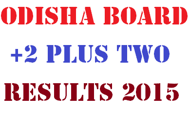 Odisha Orissa +2 Plus Two Results 2016