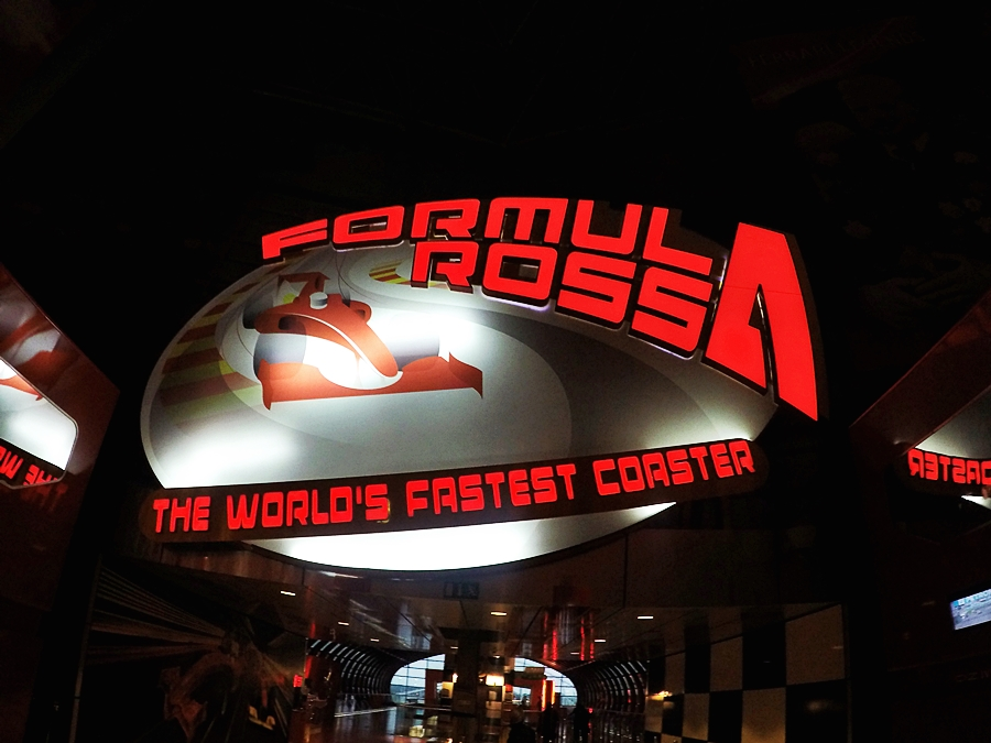 formula rossa world fastest roller coaster