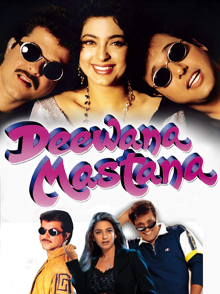 Deewana Mastana (1997) Full Movie Hindi 400MB HDRip 480p ESubs