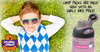 Lovable Labels Ultimate Camp Pack
