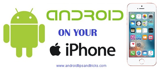 Run Android on your iPhone