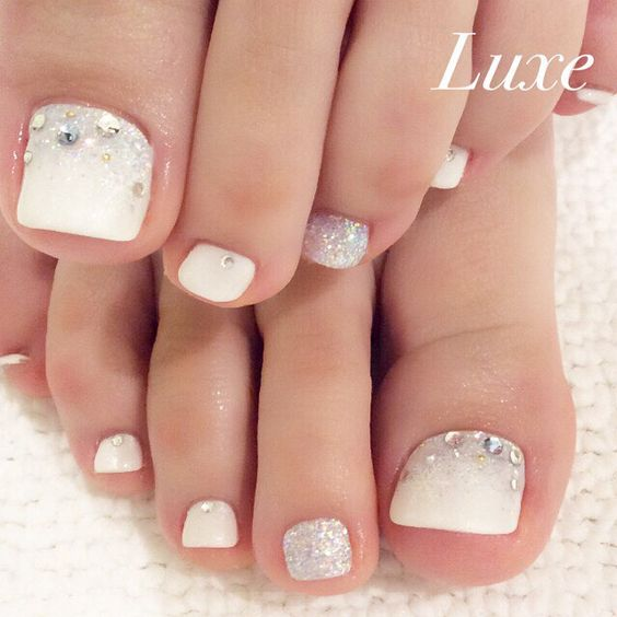 Pedicure Ideas For Brides