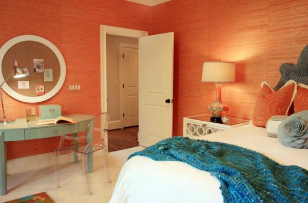 Dormitorio naranja - Dormitorios colores y estilos
