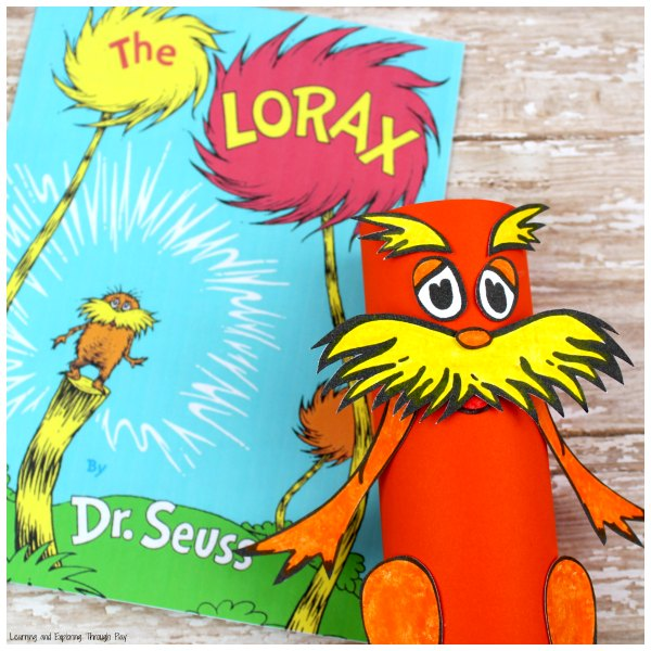 The Lorax Dr Seuss Craft