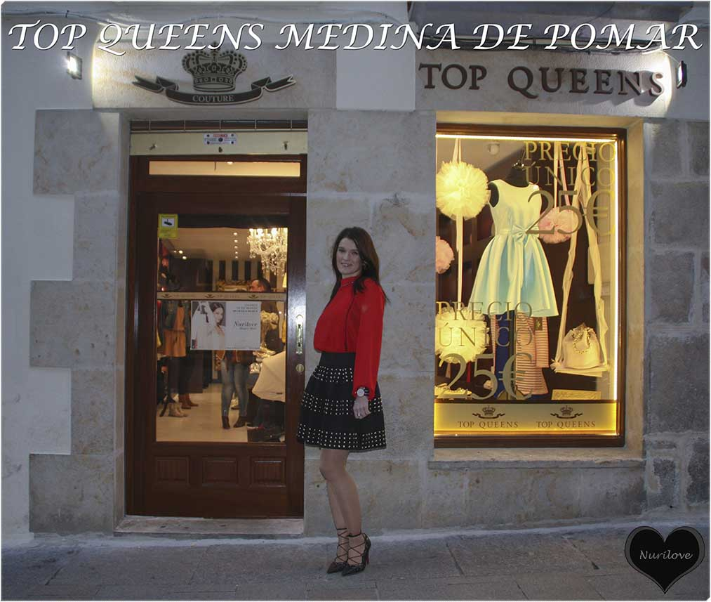 Evento en Top Queens en Medina de Pomar. Presentamos nueva colección