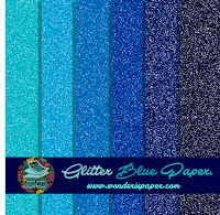 http://www.wonderispaper.com/2016/05/papeles-azules-glitter.html