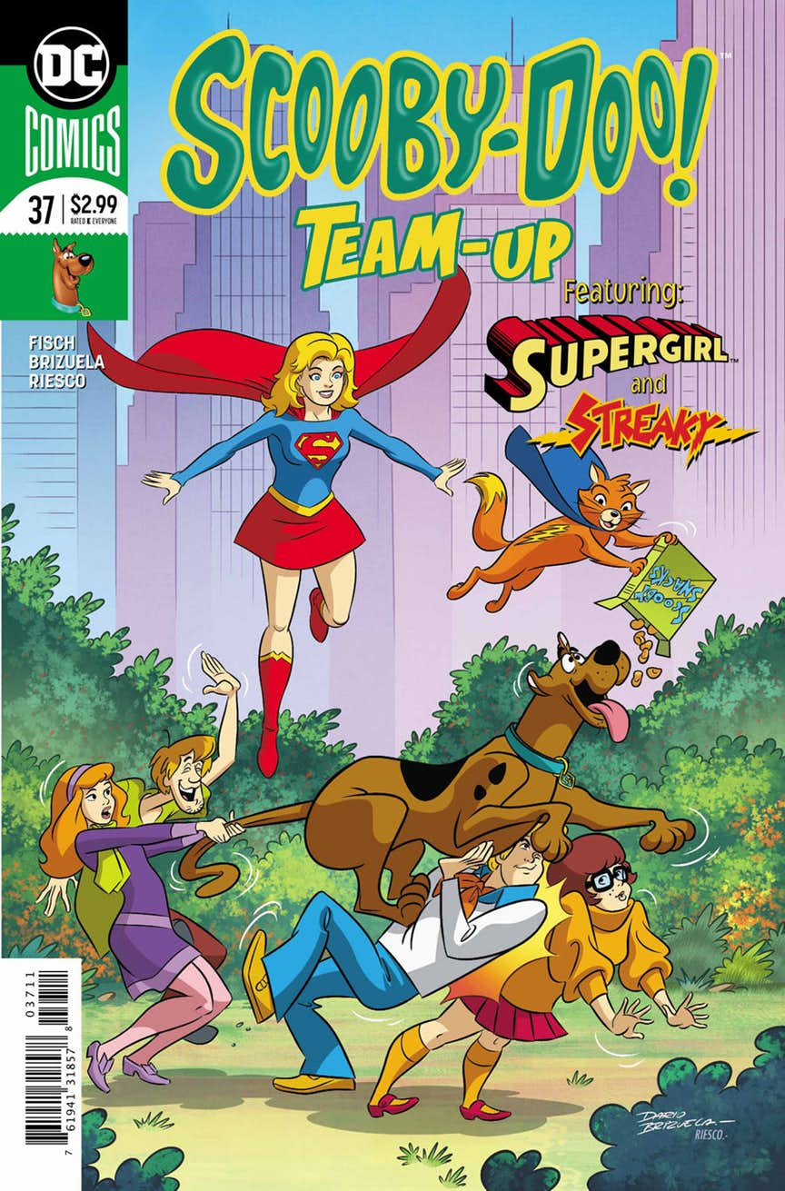 Supergirl Comic Box Commentary: Review: Scooby Doo Team-Up #37