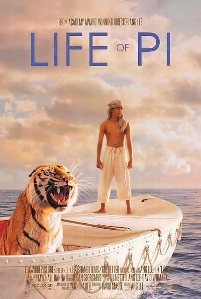 Poster Of Life of Pi 2012 720p Hindi BRRip Dual Audio Full Movie Download