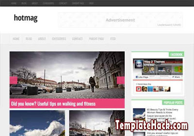 hotmag blogger template