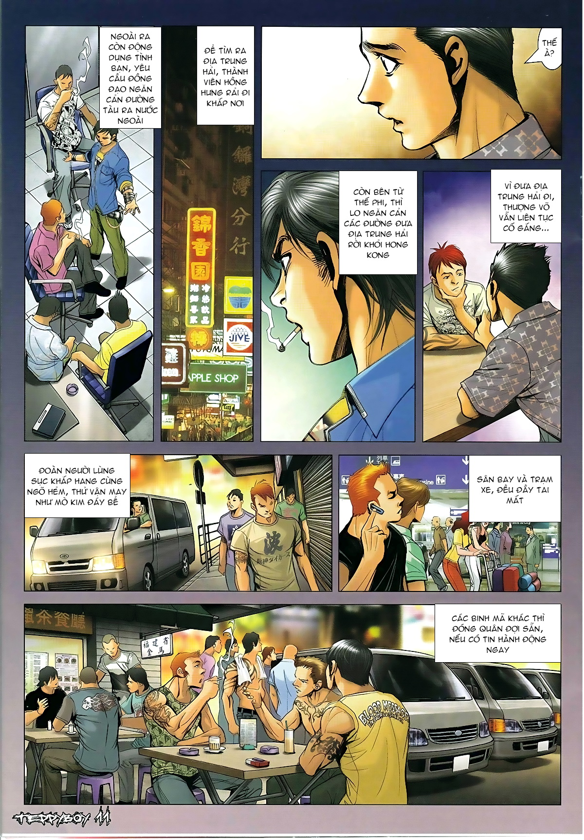 Người Trong Giang Hồ Chap 1316 - Truyen.Chap.VN