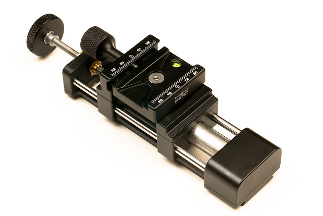 Hejnar PHOTO MS4-100-2 Linear Motion Lead Screw Macro Rail