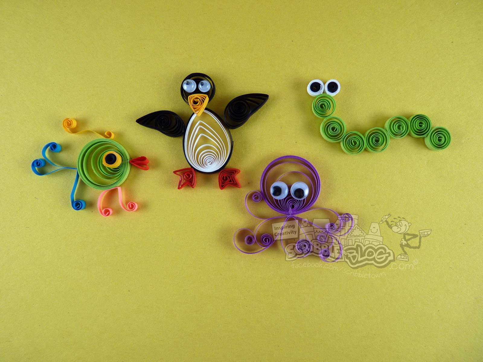 easy quilling arts and crafts to make
