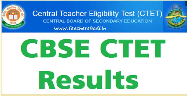 CBSE,CTET,results 2019