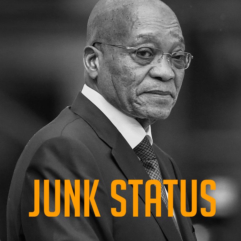 Renaldo Gouws | Junk Status...