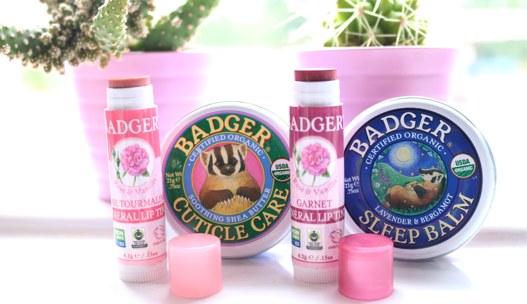 Badger Balm Mineral Lip Tints, Cuticle Care & Sleep Balm review
