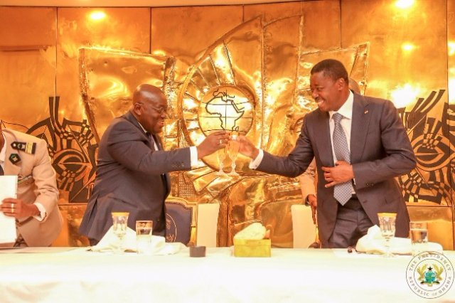 Akufo-Addo advocates for 24-hours opening of Ghana-Togo borders