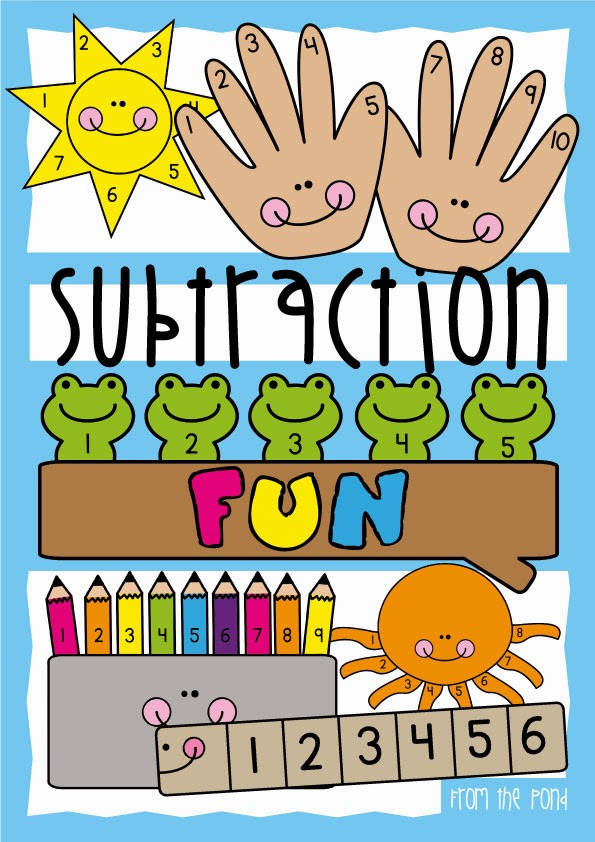 Subtraction Fun | From the Pond