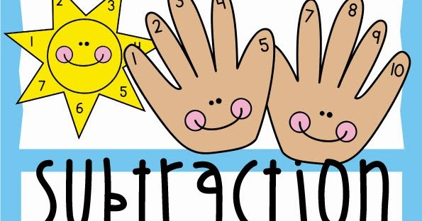 subtraction fun from the pond rh frompond blogspot com subtraction symbol clipart subtraction clipart