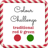52 CCT colour challenge - traditional red and green