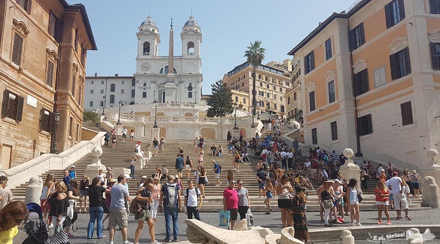 Piazza di Spagna, Roma, Itália