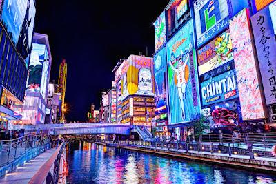 Dotonbori (tempat wisata favorit Osaka)