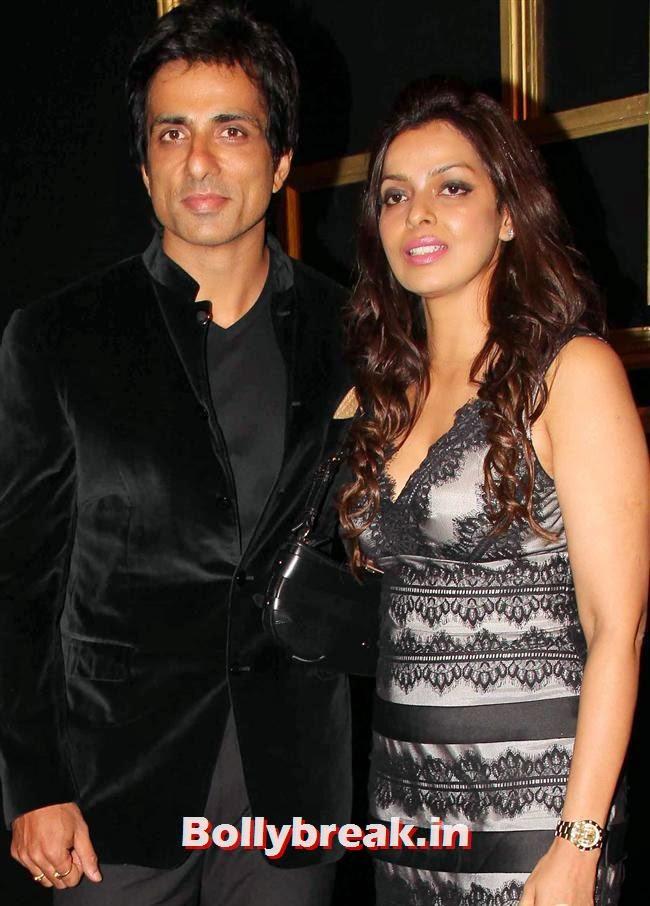 Sonu Sood, All Bollywood Celebs at Deepika Padukone Golden Party