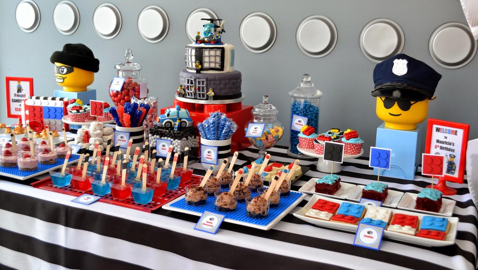 Partylicious Events Pr Lego City Police Birthday