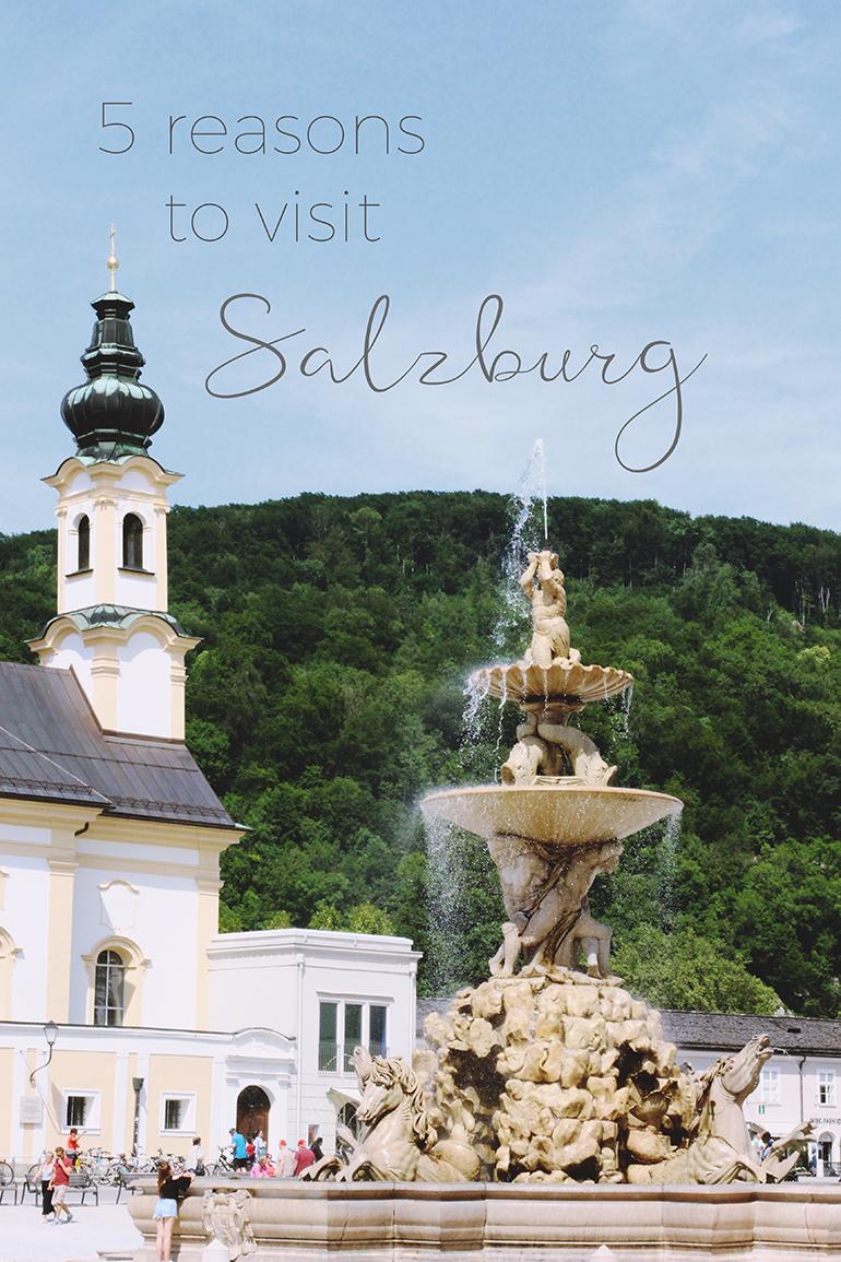 Reasons to visit Salzburg