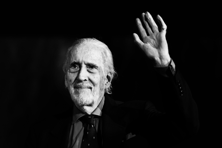 Christopher Lee es inmortal