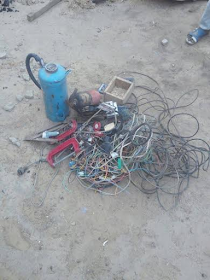 3 Photos: Troops discover Boko Haram's bomb factory in Borno
