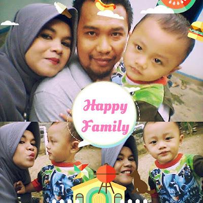 Mba Nova dan keluarga bahagianya