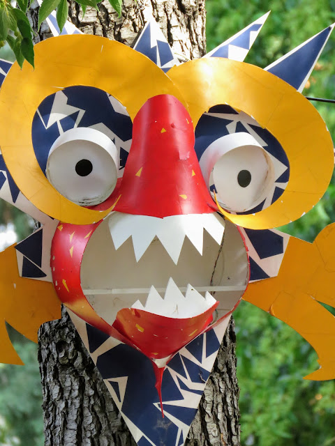 Art masks in Izola on the Slovene Riviera