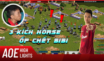 AoE Highlight | Chim Sẻ đùa bỡn BiBi bằng pha xử lý cồng kềnh