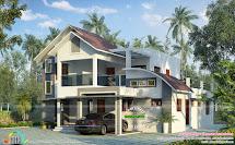 2750 Sq-ft Modern Contemporary Home - Kerala Design