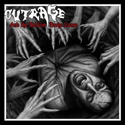 Recenze/review - OUTRAGE - And the Bedlam Broke Loose (2017)