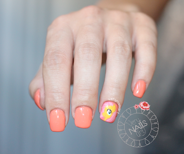 NAIL ART PASO A PASO | MY LITTLE PONY NAILS