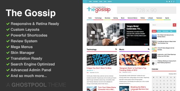 Social Media: 37 Mejores Temas de WordPress para Periódicos