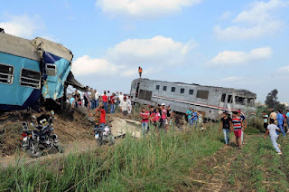 Egypt Train Collision