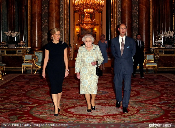 The Queen hosted a reception at Buckingham Palace