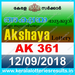 KeralaLotteriesresults.in, akshaya today result: 12-9-2018 Akshaya lottery ak-361, kerala lottery result 12-09-2018, akshaya lottery results, kerala lottery result today akshaya, akshaya lottery result, kerala lottery result akshaya today, kerala lottery akshaya today result, akshaya kerala lottery result, akshaya lottery ak.361 results 12-9-2018, akshaya lottery ak 361, live akshaya lottery ak-361, akshaya lottery, kerala lottery today result akshaya, akshaya lottery (ak-361) 12/09/2018, today akshaya lottery result, akshaya lottery today result, akshaya lottery results today, today kerala lottery result akshaya, kerala lottery results today akshaya 12 9 18, akshaya lottery today, today lottery result akshaya 12-9-18, akshaya lottery result today 12.9.2018, kerala lottery result live, kerala lottery bumper result, kerala lottery result yesterday, kerala lottery result today, kerala online lottery results, kerala lottery draw, kerala lottery results, kerala state lottery today, kerala lottare, kerala lottery result, lottery today, kerala lottery today draw result, kerala lottery online purchase, kerala lottery, kl result,  yesterday lottery results, lotteries results, keralalotteries, kerala lottery, keralalotteryresult, kerala lottery result, kerala lottery result live, kerala lottery today, kerala lottery result today, kerala lottery results today, today kerala lottery result, kerala lottery ticket pictures, kerala samsthana bhagyakuri