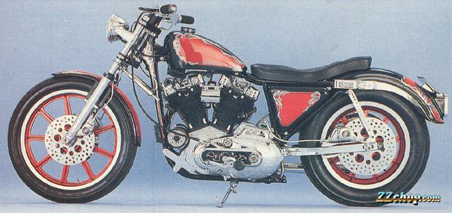 ZZ Chop 1979 Sportster