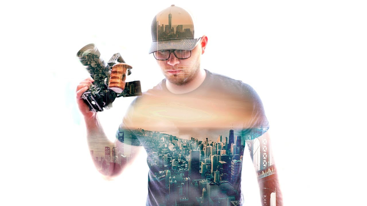 How to Make Double Exposure Videos!