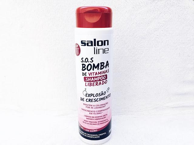 shampoo s.o.s bomba de vitaminas salon line liberado