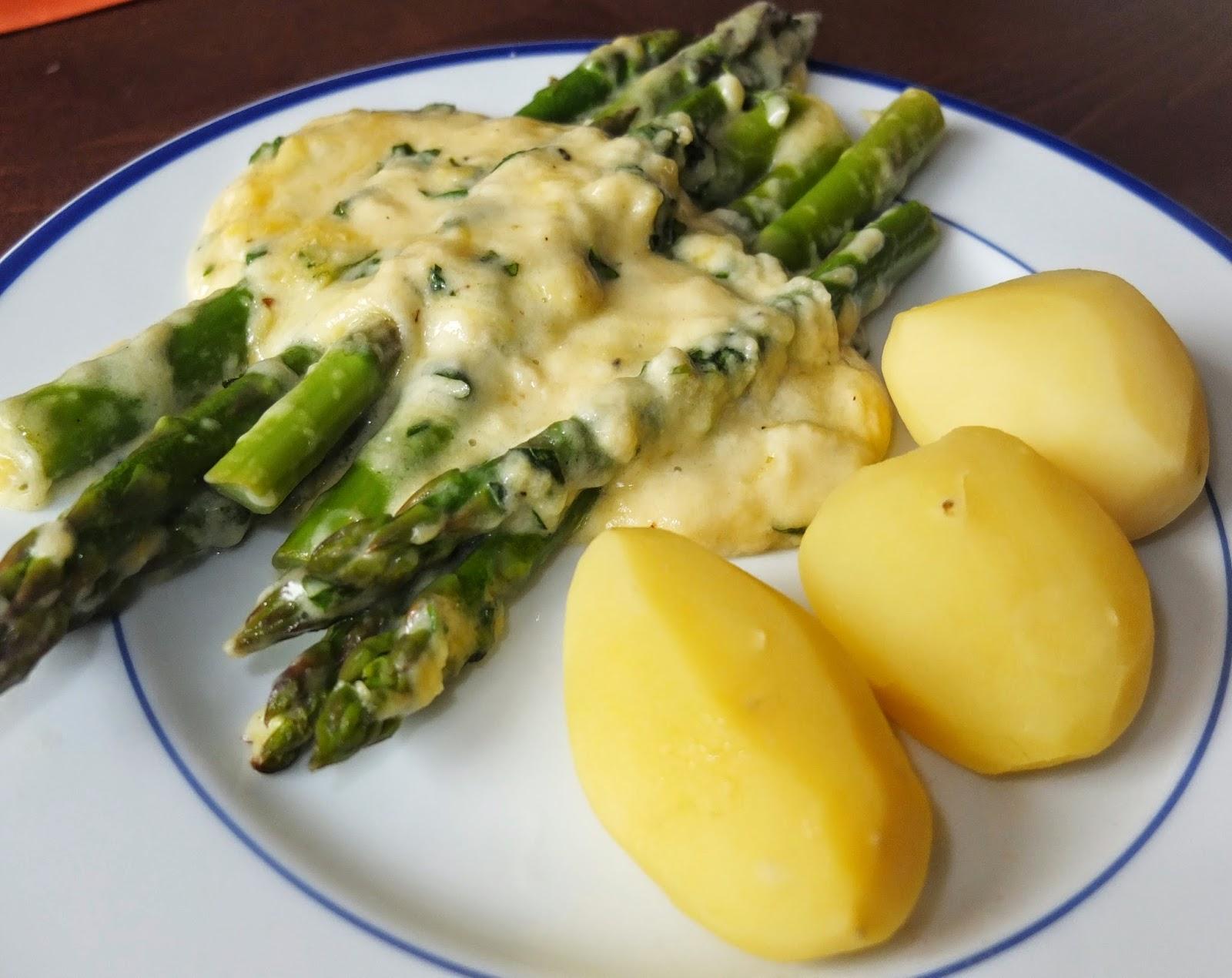 gruner spargel kochen