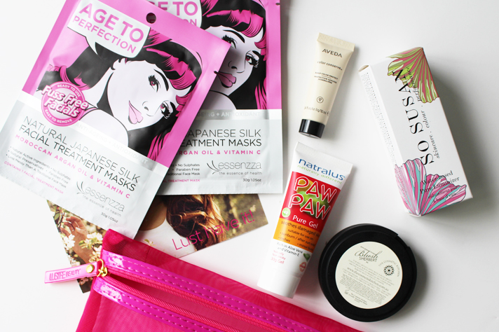 LUST HAVE IT // Women's Beauty Box November '14 | Unboxing + Initial Thoughts - CassandraMyee