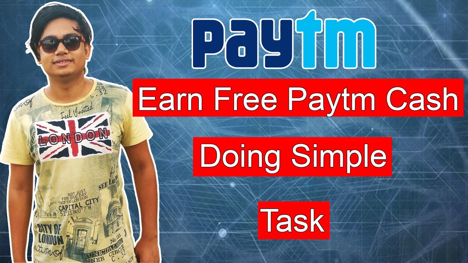earn paytm cash free - HD1600×900
